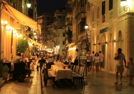 Corfu by night 5