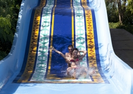 Pool  water slide
