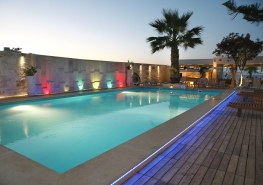 22 Pool by night
