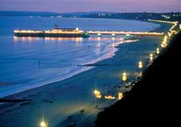 Bournemouth by night